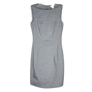 H&M Gray Sleeveless Sheath Dress 4